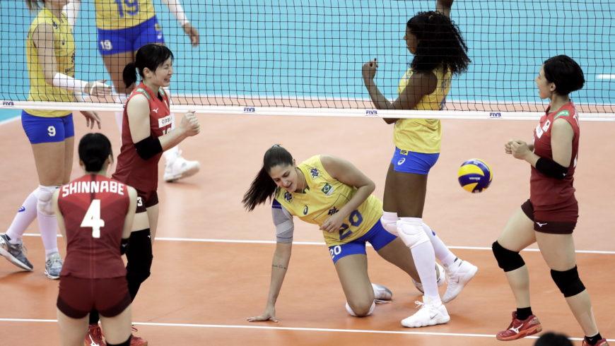 Rosja i Brazylia nie zagrają o medale MŚ siatkarek