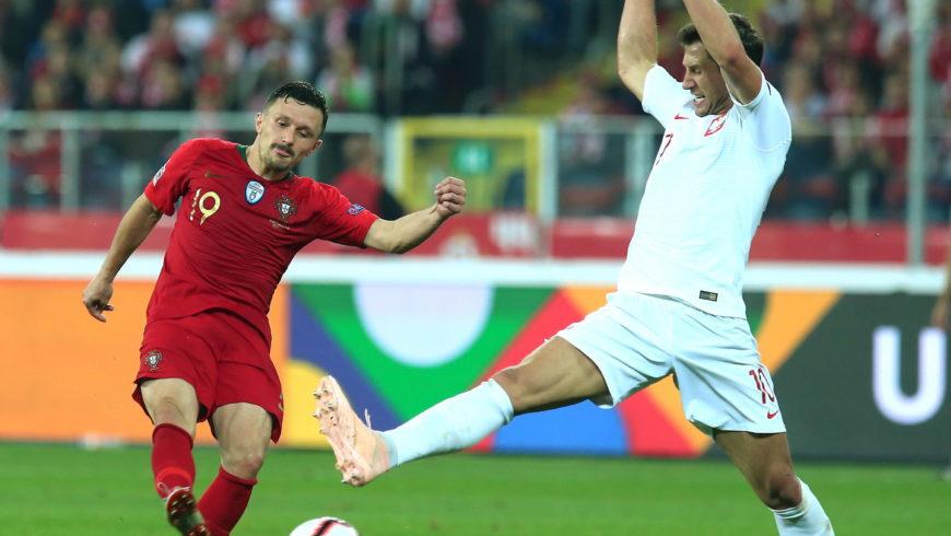 Polska przegrała z Portugalią 2:3 w meczu piłkarskiej Ligi Narodów
