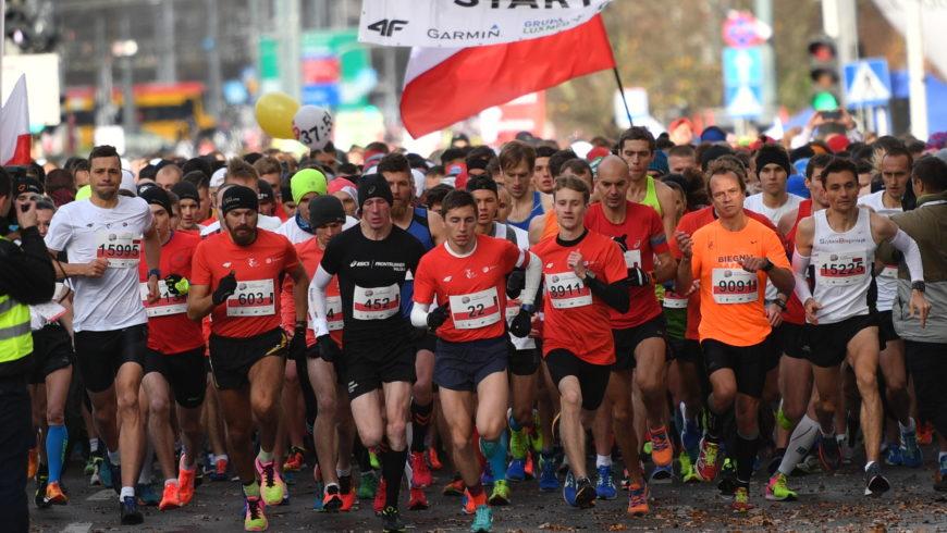 Święto Niepodległości na sportowo – przede wszystkim biegi