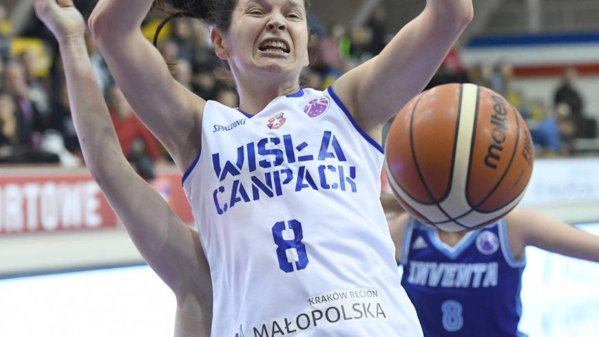 PE koszykarek: Besiktas Stambuł – Wisła CanPack Kraków 100:71