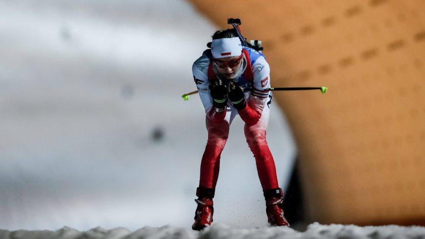 PŚ w biathlonie – drugie miejsce Hojnisz w biegu na 15 km
