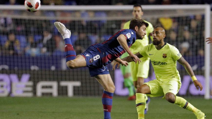 Puchar Hiszpanii – wyjazdowa porażka Barcelony z Levante