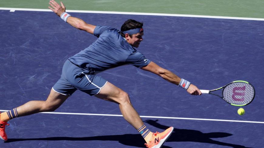 Turniej ATP w Indian Wells – Raonic pierwszym półfinalistą